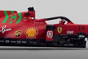 ¿Por qué el color verde está en el Ferrari SF21?