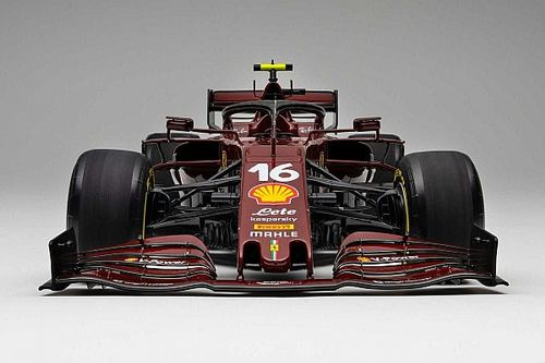 Amalgam unveils 1:8 scale Ferrari SF1000 model with 1,000th GP livery