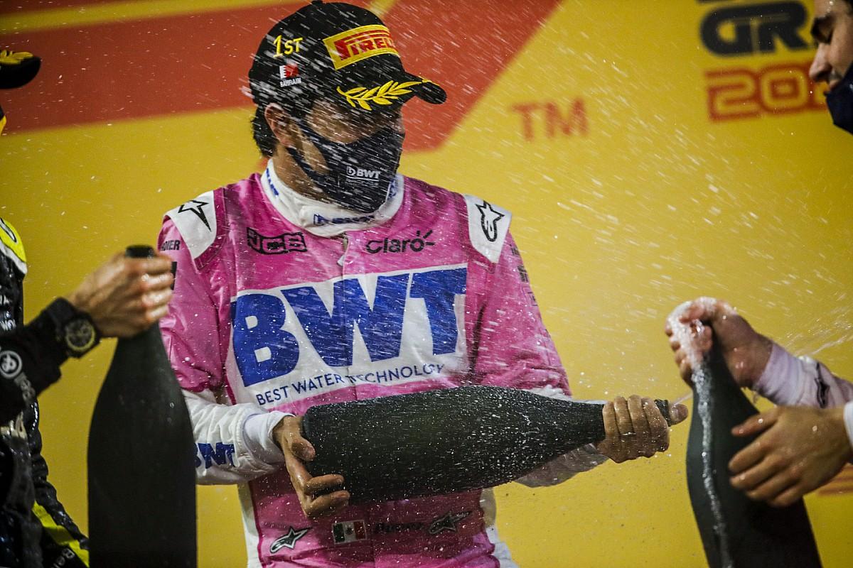 Los fans colocan a Sergio Pérez como el tercer mejor piloto de la F1