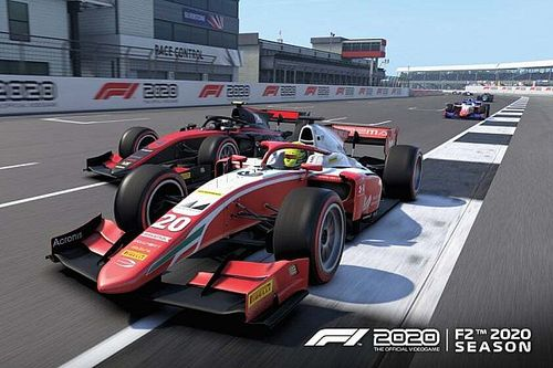 La FIA F2 2020 llega a 'F1 2020' de manera gratuita