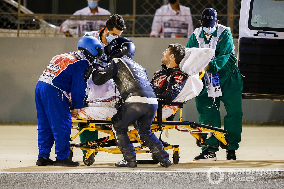 Romain Grosjean sarà dimesso dall'ospedale domani