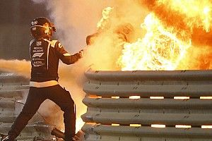 Vettel, Grosjean'ın Bahreyn'deki kazadan sağ çıkmasına hâlâ şaşırıyor