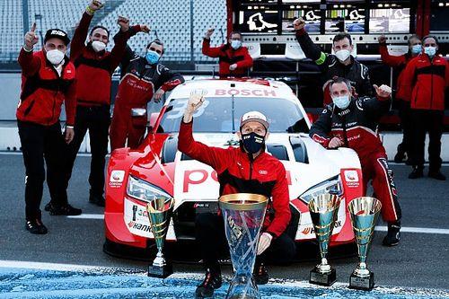 VIDEO: DTM-tijdperk afgesloten met prachtig eresaluut van Audi