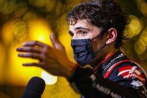 """Grosjean, Fittipaldi'ye """"İlk yarışından zevk almaya çalışmalısın"""" demiş"""