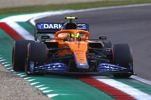 Norris admite su error en la clasificación del GP de Emilia Romagna