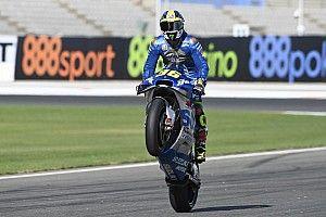 Hasil MotoGP Eropa: Joan Mir Akhirnya Menang!