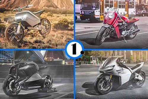 Así podrían ser las motos de algunos fabricantes de coches