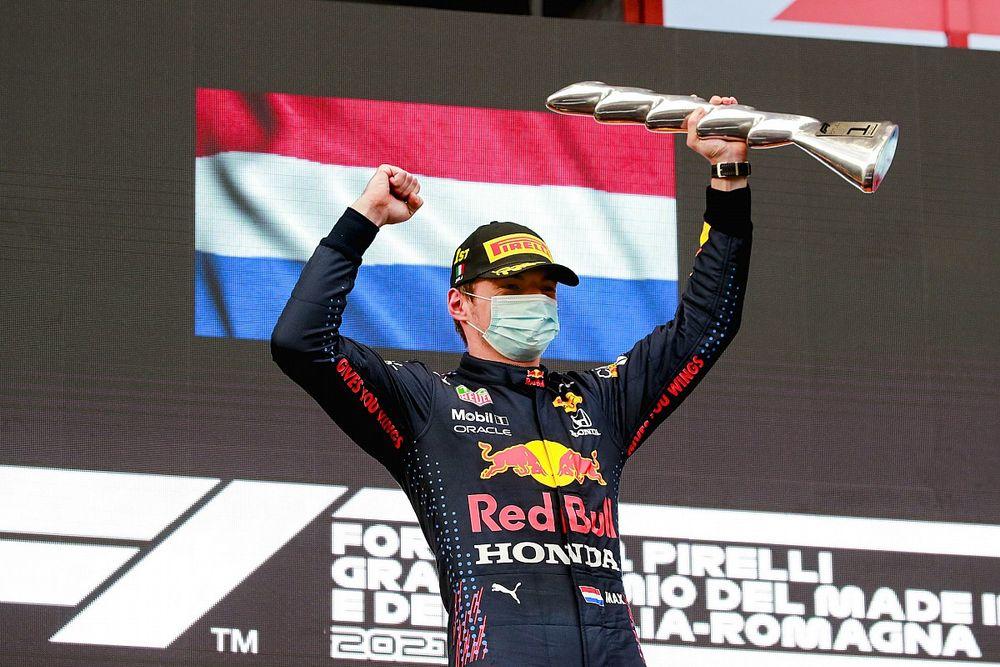 Emilia Romagna GP: Verstappen wins, Hamilton recovers to second