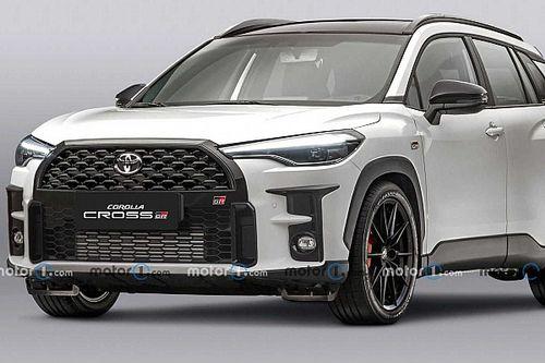 Projeção: Toyota Corolla Cross GR Sport chega em 2022 com visual esportivo