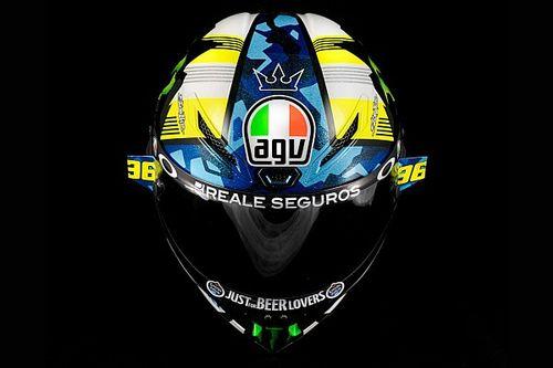 Joan Mir et Valentino Rossi présentent leur casque 2021