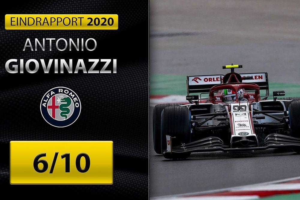 Eindrapport Giovinazzi: Italiaan doorstaat jaar van de waarheid