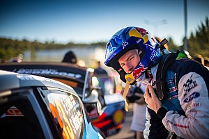 Injured Evans ruled out of Rally Finland