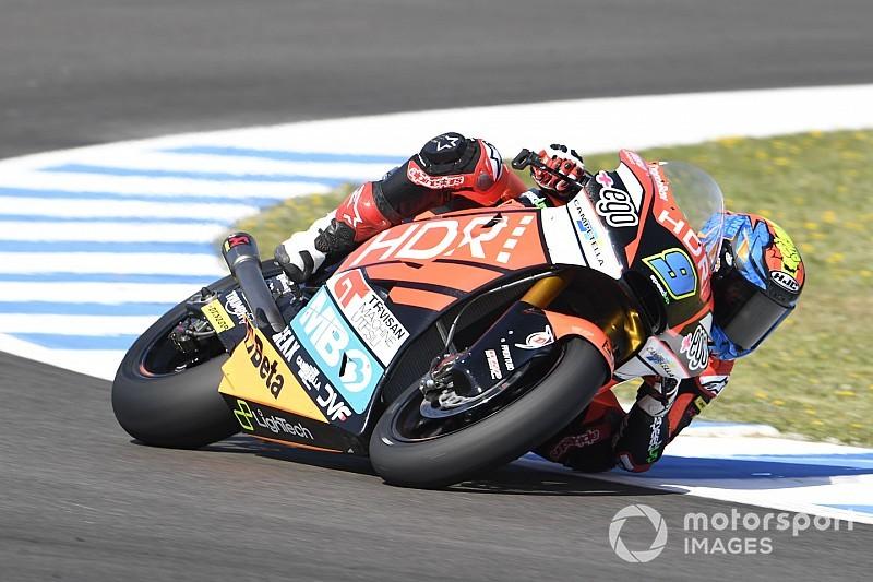 Moto2スペイン予選:ホルヘ・ナヴァッロが初ポール獲得! マルケス弟2番手、長島哲太は9番手
