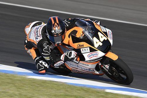 Moto3, Brno: Canet beffa Dalla Porta ed Arbolino e torna leader
