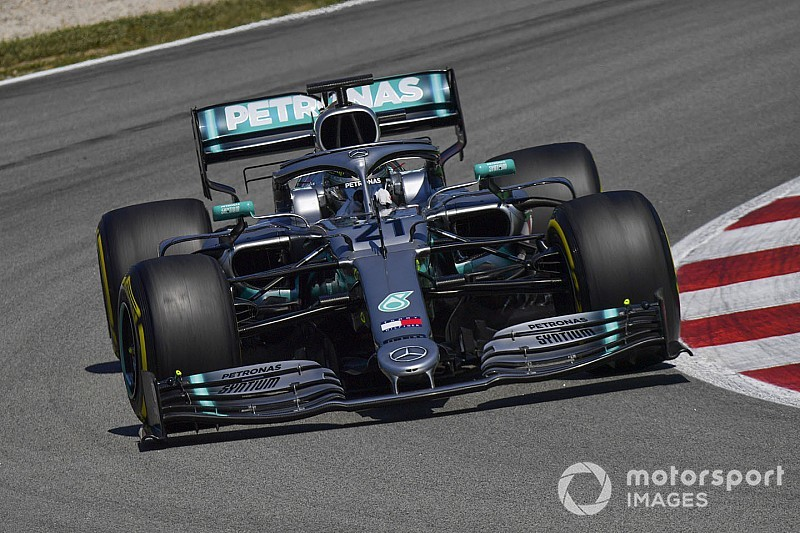 Mazepin fastest for Mercedes in Barcelona F1 test