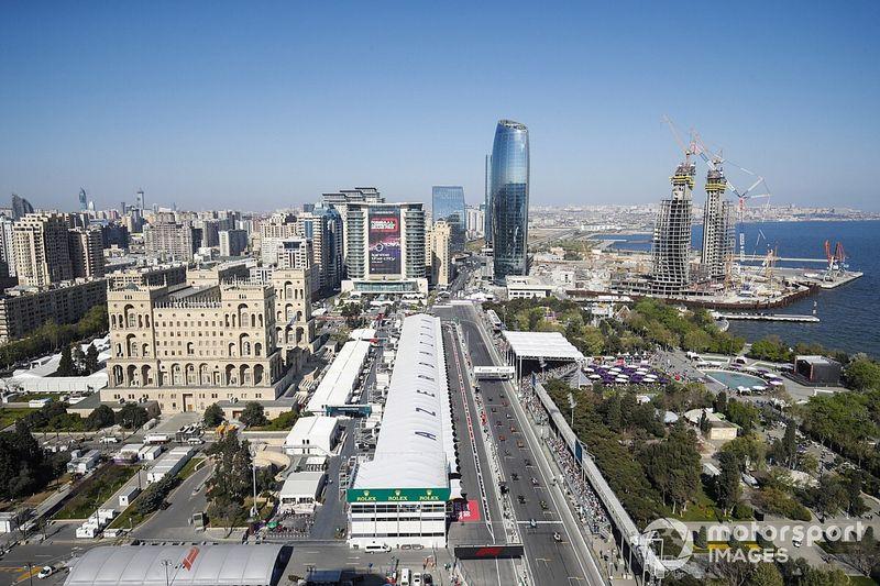 DAZN、アゼルバイジャンGP配信スケジュール:公道レース2連戦……しかしモナコとは勢力図が変わる??
