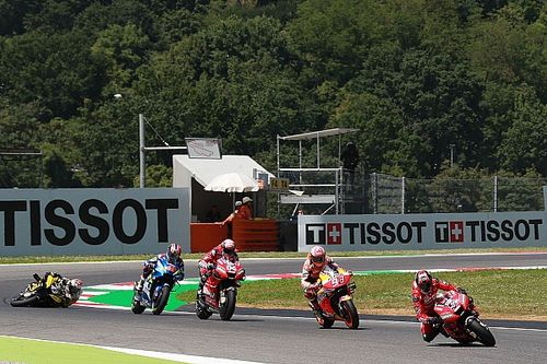 'MotoGP kan F1 leren hoe het races spannender maakt'