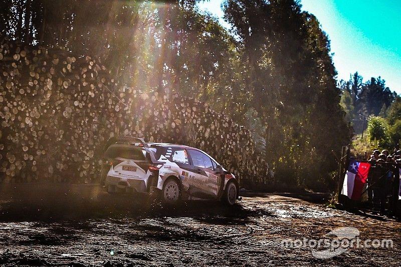 WRC Chili: Tanak sleept zege binnen, Ogier aan de leiding in WK