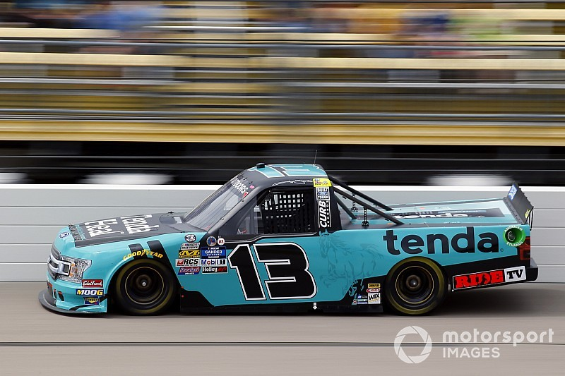 NASCAR suspends Truck Series veteran Johnny Sauter