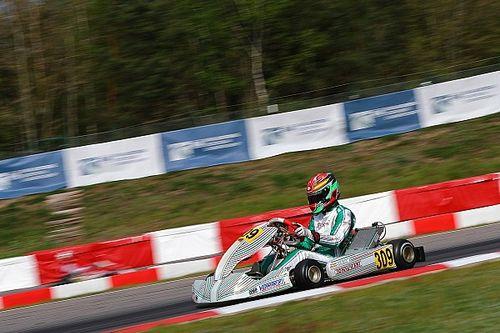 Vidales pierde el Europeo de KZ2 a cuatro vueltas del final