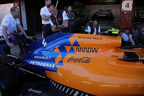 McLaren to run upgraded Renault engine in Spain
