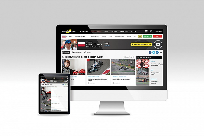 Motorsport.com erweitert sein globales Netzwerk mit dem Launch einer neuen Edition auf Polnisch
