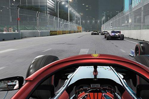 Создатели игры F1 2019 похвастались пылью на трассах ночных гонок