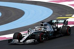 """EL1 - Hamilton et Bottas séparés par 0""""069"""