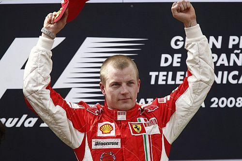 Räikkönen ekkor még vezette a bajnokságot a Ferrarival