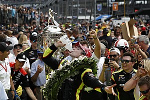 "Pagenaud on Indy 500 win: ""Today was about attacking"""