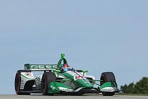 Herta supera Rossi no final e se torna o pole mais jovem da história da Indy