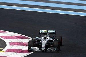 Bottas dá troco em Hamilton e é o mais rápido do dia na França