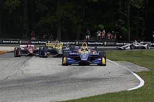Road America IndyCar: Rossi beats Penskes to top spot in FP2