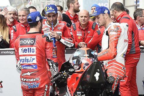 La de Miller, única Ducati que le enseño los dientes a Márquez