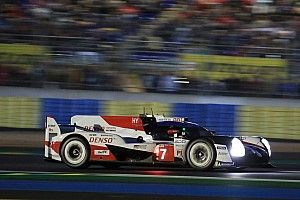 Frayeur mais pole position provisoire pour Toyota au Mans