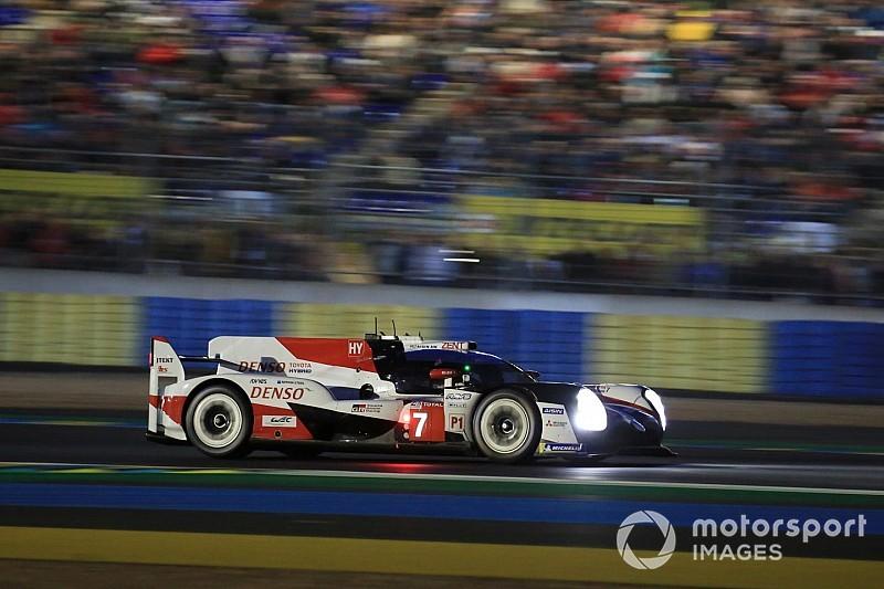 Toyota de José María López en la pole provisional en Le Mans