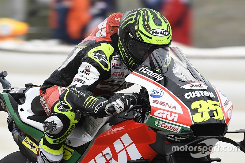 "Crutchlow: New Honda chassis ""nothing like"" '18 version"