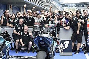 """Morbidelli: """"La diferencia con las Yamaha oficiales no es tanta"""""""