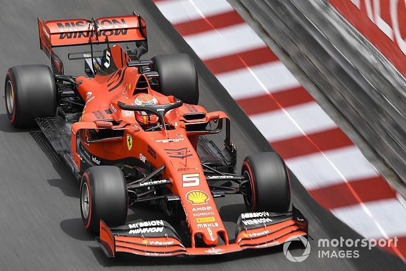 Vettel, Ferrari'nin süspansiyon sorunu yaşadığını kabul etmedi
