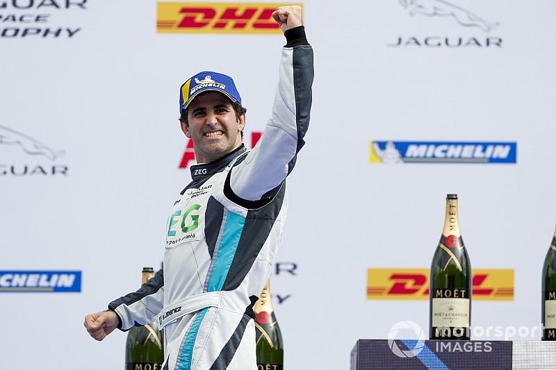 Jimenez brilha em Nova York e é o primeiro campeão do Jaguar I-Pace eTrophy