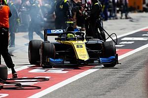 F2開幕戦バーレーンレース2:タイヤ交換奏功のギオット優勝! 松下またしてもタイヤに苦しむ