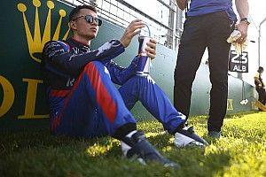 "Albon a ""vraiment impressionné"" Toro Rosso à Melbourne"