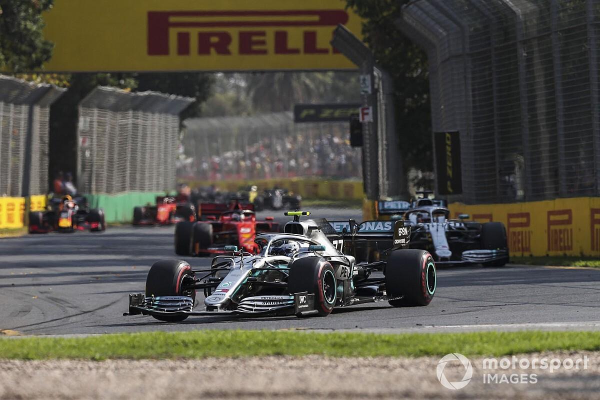 GP da Austrália 2019 de F1 tem uma ultrapassagem a menos que prova de 2018