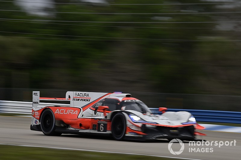 "Pole-winning Acura's chances ended by ""myriad"" problems"