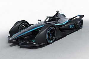 Mercedes revela pintura de carro conceito da Fórmula E