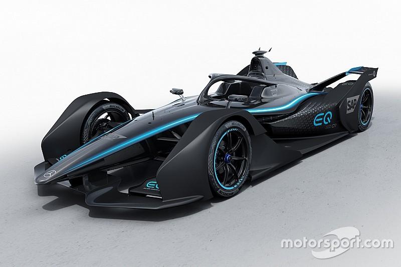 Mercedes revela su primera decoración para la Fórmula E
