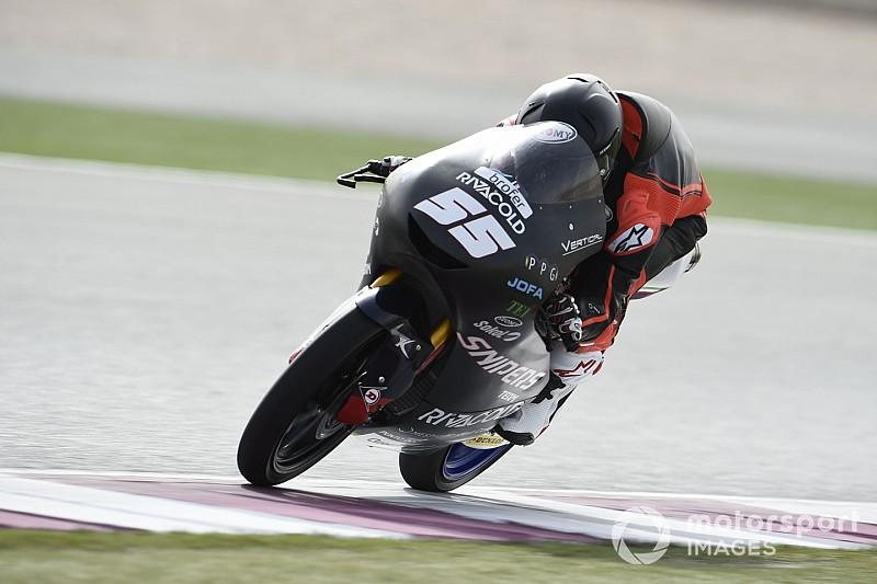 Moto3 in Katar FT1: Romano Fenati fährt beim Auftakt klare Bestzeit
