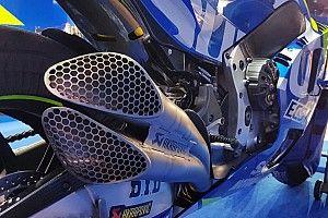 Suzuki: sulla GSX-RR è arrivato un nuovo scarico doppio nei test in Qatar