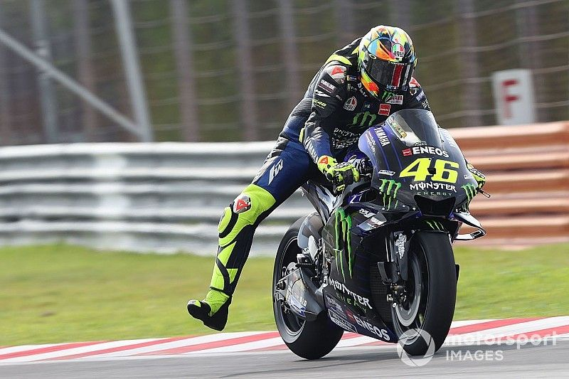 """Rossi: """"El último neumático salió mal, pero no hubiera superado a Maverick"""""""