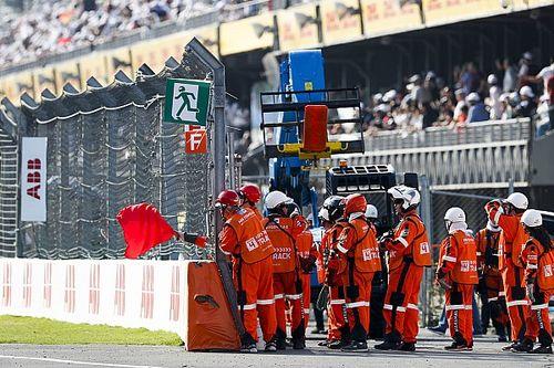 El accidente que provocó la segunda bandera roja en la historia de la Fórmula E